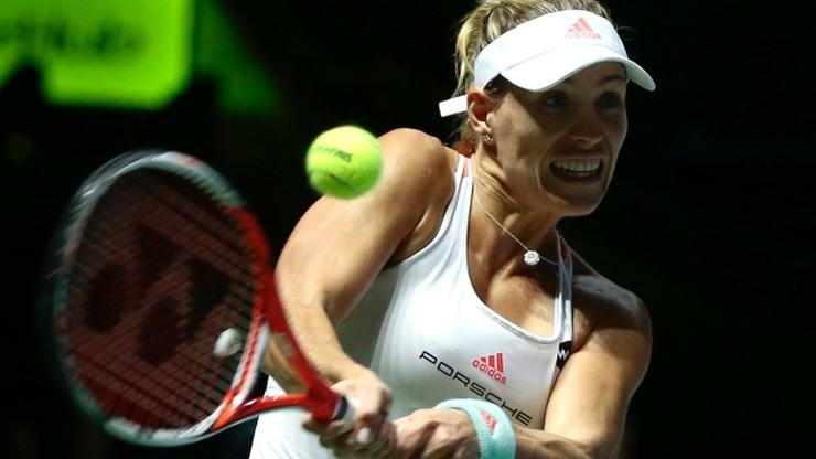 WTA Finals: Kerber awansowała z pierwszego miejsca, Cibulkova drugą półfinalistką