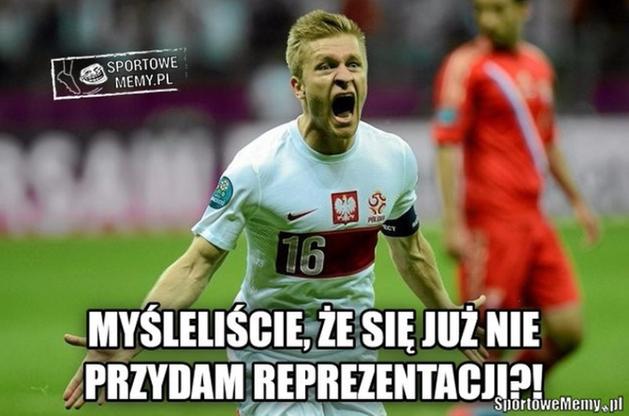 Błaszczykowski jednak wygrał mecz sam. Najlepsze memy po spotkaniu Polska - Ukraina