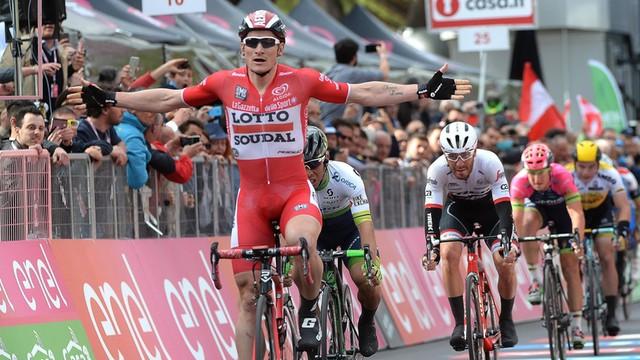Giro d'Italia - trzecie zwycięstwo etapowe Greipela