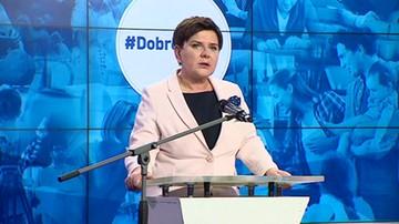 Szydło: ogromny sukces odniósł minister Mariusz Błaszczak
