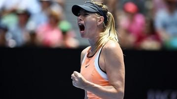 2017-10-15 WTA w Tiencinie: W finale Szarapowa pokonała Sabalenkę