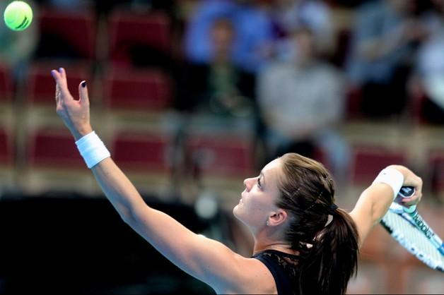 WTA w Katowicach: Agnieszka Radwańska w ćwierćfinale