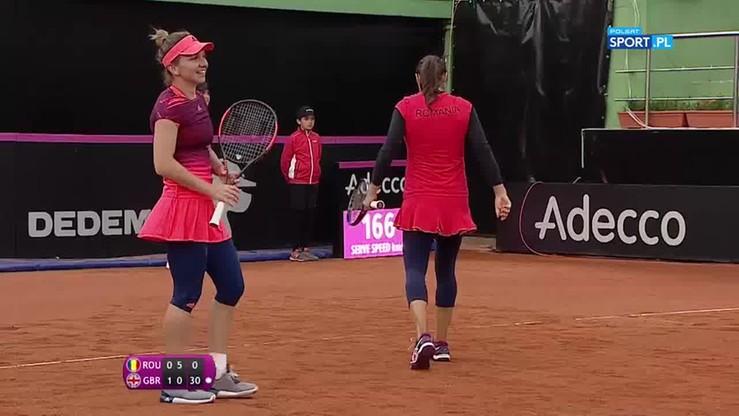 Radwańska byłaby dumna! Genialne zagranie brytyjskiej tenisistki