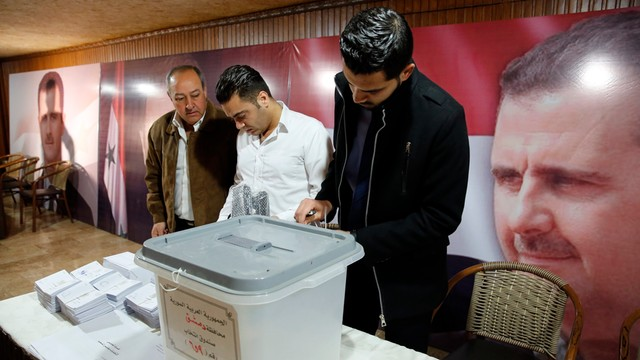 Syria: wybory parlamentarne na obszarach kontrolowanych przez rząd