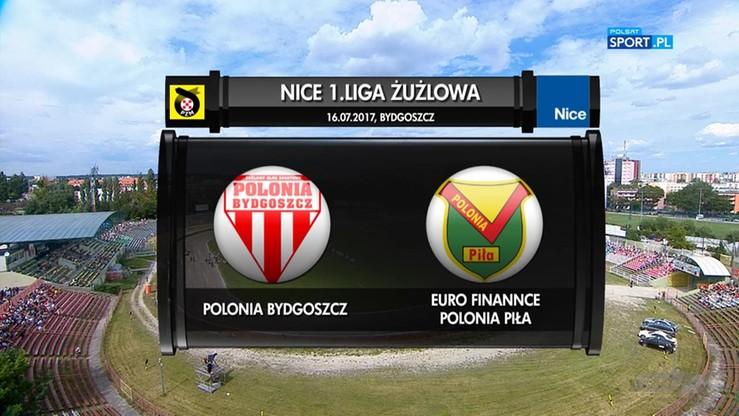 Polonia Bydgoszcz - Euro Finannce Polonia Piła 37:53. Skrót meczu