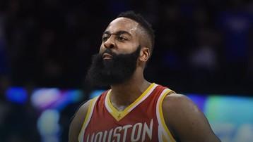 2017-01-18 NBA: Znakomity Harden, porażka Rockets