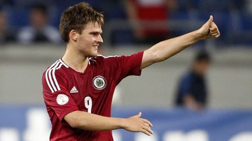 2015-09-09 Napastnik Miedzi Legnica najlepszym strzelcem Łotwy. Będzie gwiazdą 1 ligi?