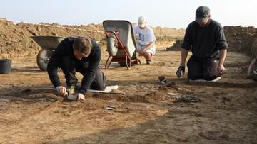 12-06-2017 14:23 Unikatowa figurka sprzed 7 tys. lat odkryta na polu uprawnym na Podkarpaciu