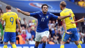 17-06-2016 17:28 Włochy pokonały Szwecję 1:0. Awans mają już zapewniony