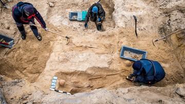 Podczas budowy znaleziono ludzkie szczątki. Mieszkania jednak powstaną