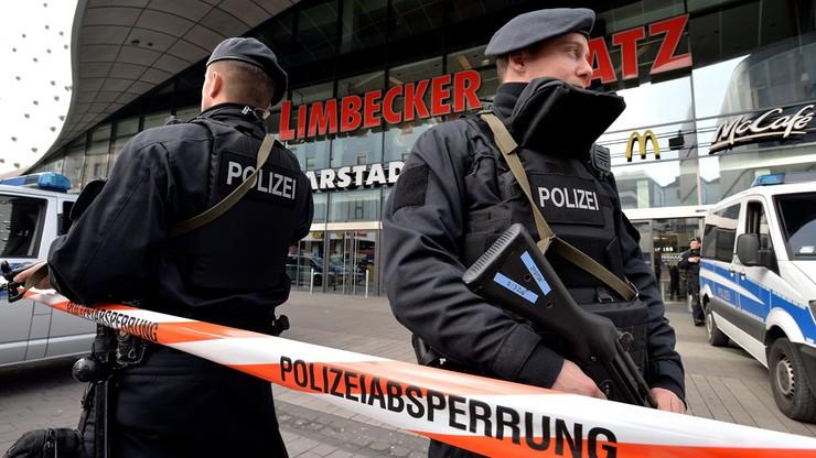 Zagrożenie terrorystyczne w Essen. Zamknięto centrum handlowe