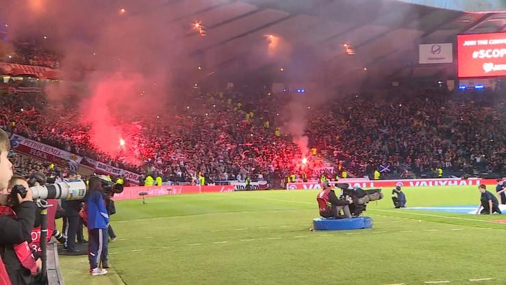 UEFA ukarała PZPN za to, że kibice zapalili race