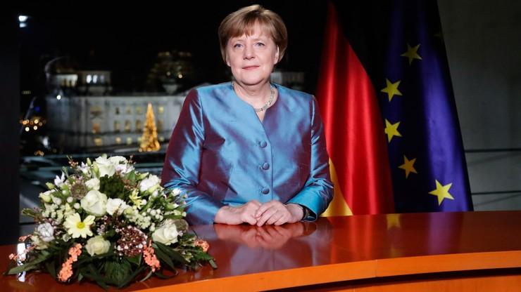 """""""Islamistyczny terroryzm największym wyzwaniem dla Niemiec"""" - Merkel w przemówieniu noworocznym"""