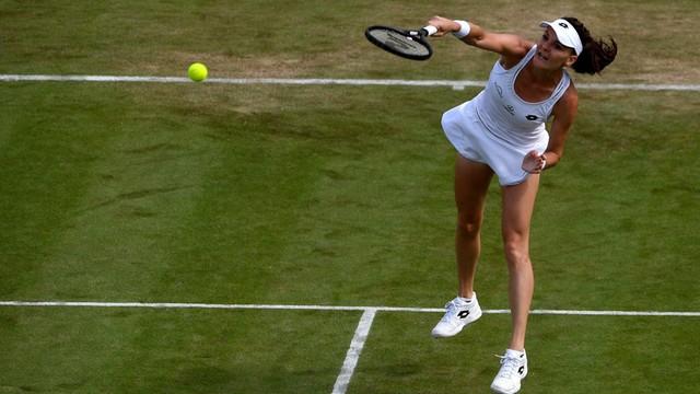 Wimbledon: wygrana Agnieszki Radwańskiej w 1. rundzie