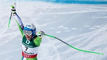 2017-02-12 Alpejskie MŚ: Wygrana Stuhec w zjeździe, brązowy medal Vonn