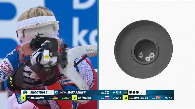 PŚ w biathlonie: Skrót biegu sprinterskiego kobiet w Ruhpolding