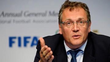 05-01-2016 16:48 Afera FIFA: wniosek o dziewięć lat zawieszenia dla Valcke'a