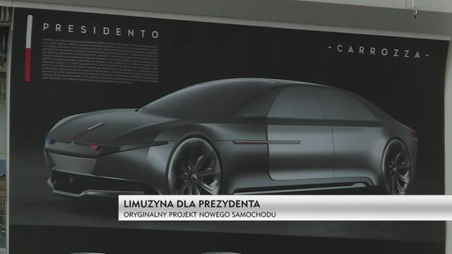Presidento - nowa limuzyna dla polskiego prezydenta wzorowana na karocy