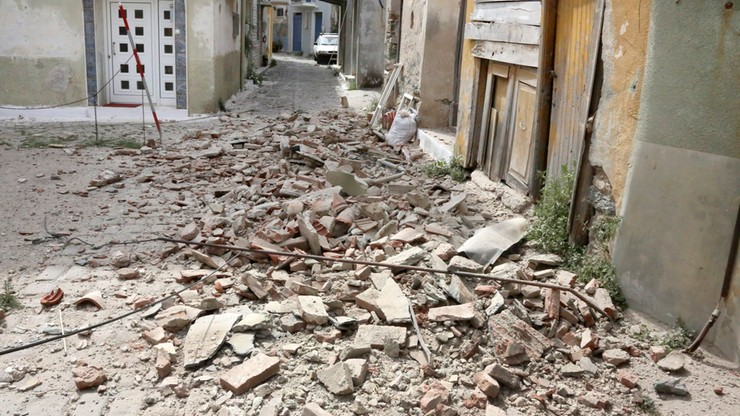 Trzęsienie ziemi na greckiej wyspie Lesbos. Jedna ofiara śmiertelna