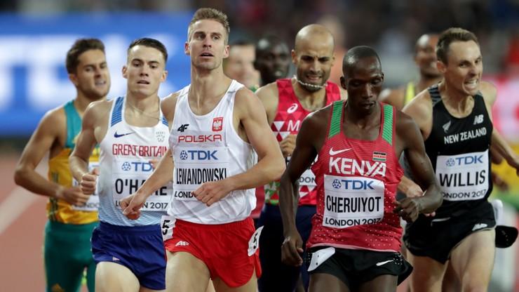 Lekkoatletyczne MŚ: Lewandowski pierwszym Polakiem w finale 1500 m