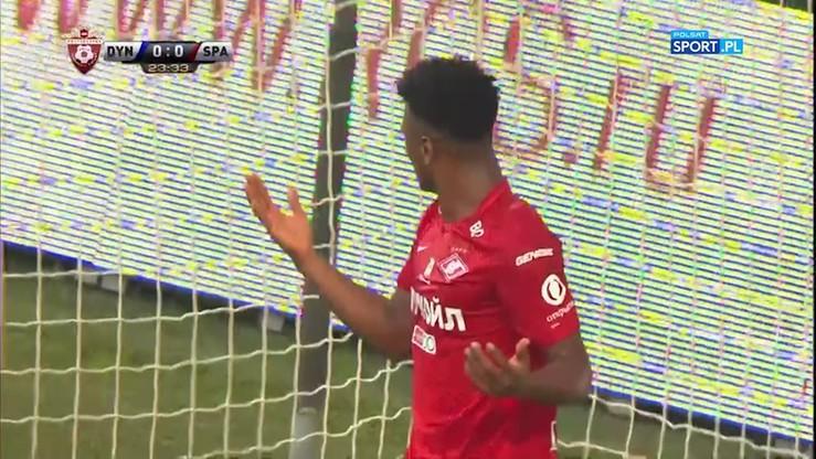 Dynamo Moskwa - Spartak Moskwa 2:2. Skrót meczu