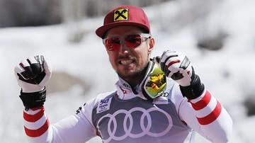2017-08-17 Alpejski PŚ: Austriak Marcel Hirscher kontuzjowany