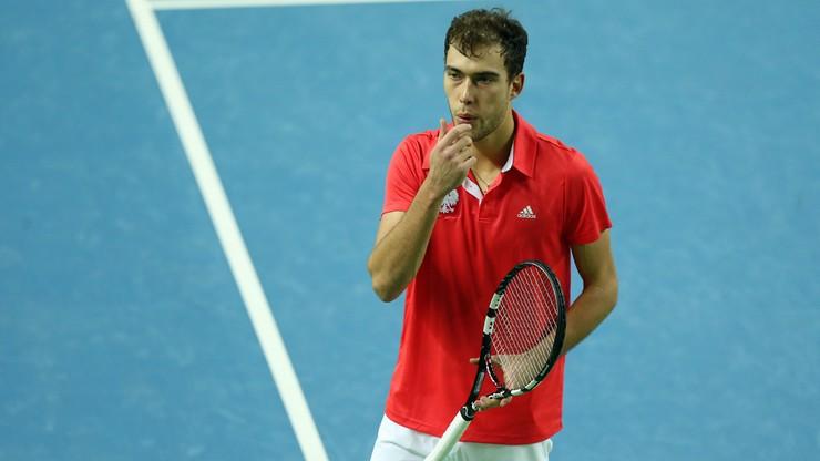 Ranking ATP: Spadek Janowicza
