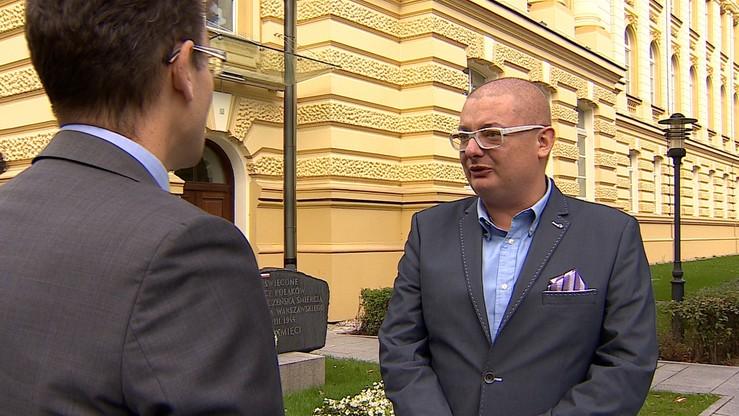 Kamiński zawieszony w prawach członka klubu PO. Na miesiąc