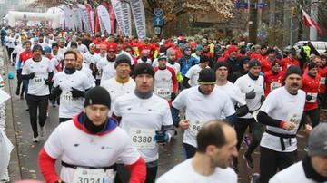 2016-11-11 Bieg Niepodległości w Warszawie: Badurek i Łapińska najszybsi na 10 km