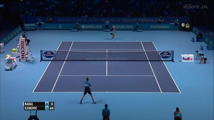 2015-11-21 Rafael Nadal - Novak Djokovic 0:2. Skrót meczu