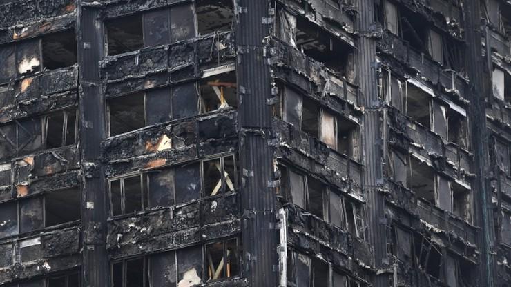 Wzrosła liczba ofiar pożaru wieżowca w Londynie