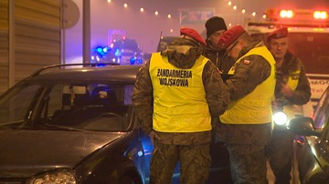 """26-01-2017 12:43 """"Samochód z kolumny stracił przyczepność z nawierzchnią i uderzył w tył poprzedzającego"""" - prokuratura o wypadku Macierewicza"""