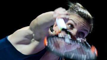 2016-10-23 WTA Finals: Halep nie dała szans Keys