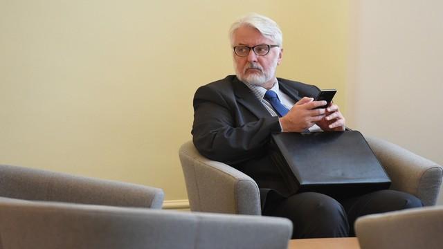 Waszczykowski: nie widzimy wartości dodanej z Donalda Tuska jako szefa RE