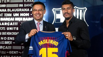 2017-08-18 Paulinho 20 tysięcy razy gorszy od Neymara. Tylko jedna sprzedana koszulka