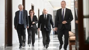 """31-03-2016 14:00 """"To była rozmowa, nie wojna"""". Szef PiS po spotkaniu liderów ośmiu partii"""
