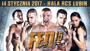 2016-11-21 Poznaliśmy pierwszą walkę gali FEN 15: Final Strike