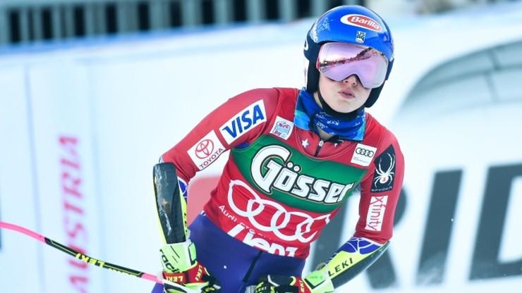 Alpejski PŚ: Shiffrin bezkonkurencyjna na półmetku slalomu w Zagrzebiu