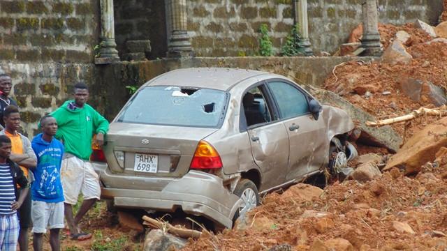 Sierra Leone: Setki ludzi zginęły w lawinach błotnych