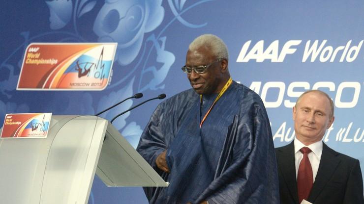 Lamine Diack zrezygnował ze statusu honorowego członka Międzynarodowego Komitetu Olimpijskiego