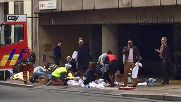 22-03-2016 15:03 34 zabitych i ok. 200 rannych w zamachach w Brukseli