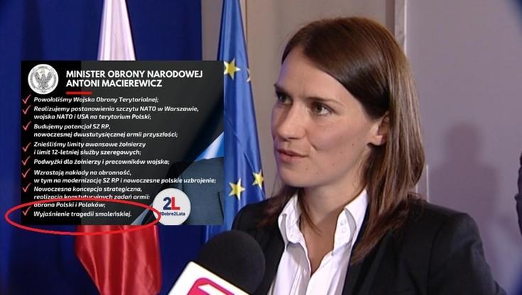 """Macierewicz szczyci się """"wyjaśnieniem tragedii smoleńskiej"""". Posłanka PO pyta o szczegóły"""
