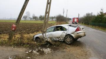 07-12-2015 14:08 Pijany kierowca wjechał w słup elektryczny. Zwarcie zabiło 27 krów
