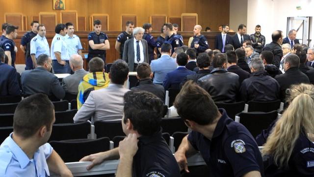 Grecja: zadyma na procesie działaczy Złotej Jutrzenki