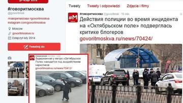 29-02-2016 12:32 Moskwa: kobieta z odciętą głową dziecka stała przed stacją metra