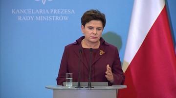 Premier Szydło: prezydent Warszawy chce stworzyć wrażenie, że jest uczciwa