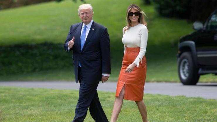 Prezydent Trump rozpoczął swą pierwszą podróż zagraniczną