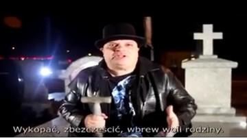 """12-11-2016 14:34 """"Cyrk nad szczątkami, by sława brata trwała latami"""" - Skiba tłumaczy się z """"wierszyka"""" o ekshumacjach"""