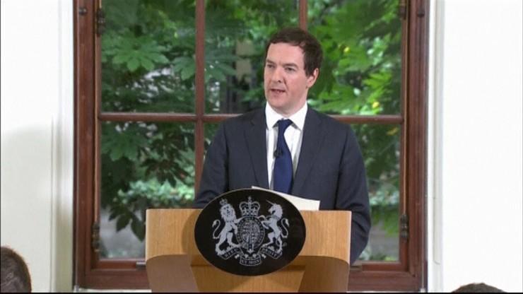 Osborne: brytyjska gospodarka silna, poradzimy sobie ze skutkami Brexitu. Jest plan awaryjny
