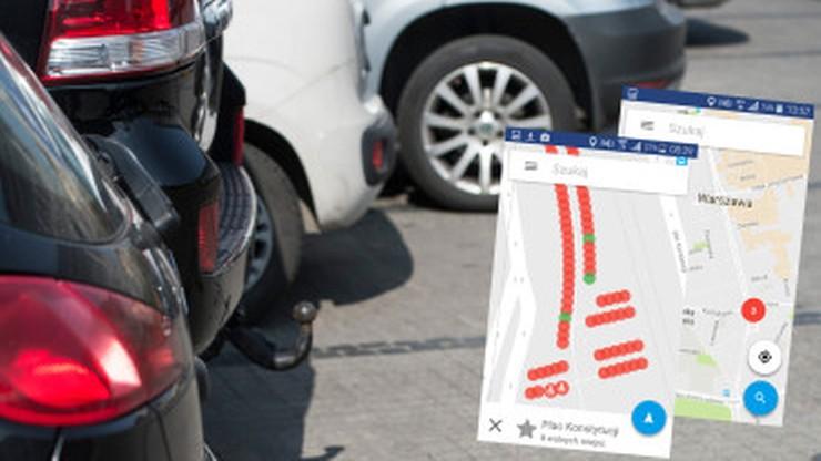 Znajdź wolne miejsce parkingowe w centrum miasta. Warszawa testuje nowy system